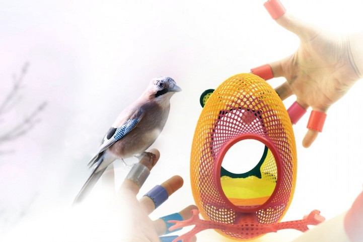 3D-Printed Nests Bring Birds Back Into Cities