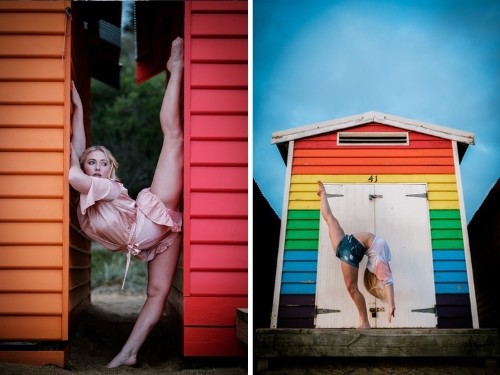 Athletic Ballet Dancers Photographed on the Streets of Melbourne