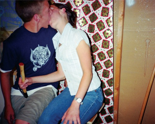 Photographer Documents Teenage Couples Consumed by a Passionate Kiss