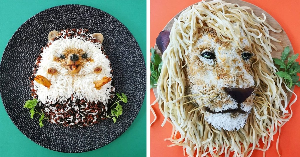 Creative Mom Turns Healthy Ingredients Into Incredible Meals That Belong in a Museum