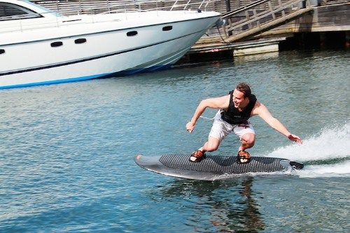 World's First Electric Wakeboard Means You Can Take This Sport Anywhere