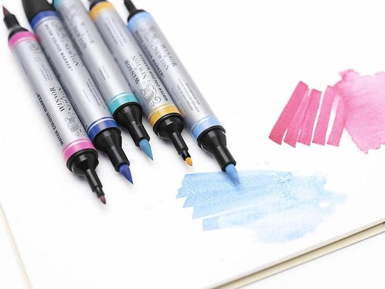 8 Best Watercolor Marker Sets for Beginners and Professionals