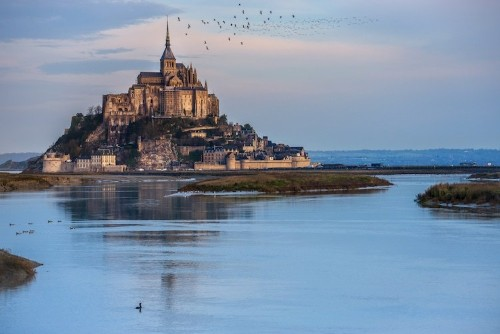 Mont-Saint-Michel: The Medieval Island Off the Coast of France