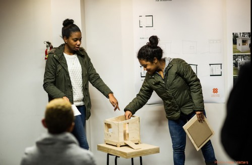 Teenagers Design Tiny Houses For Seattle Homeless Community