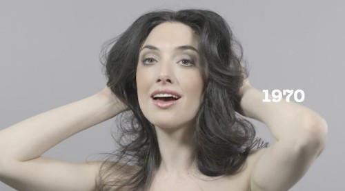 100 Years of Changing Beauty, Makeup, and Hairstyles in 1 Minute