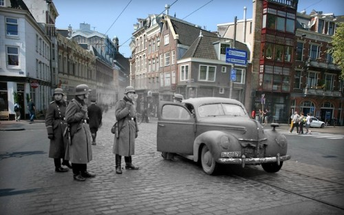 Merging the Past and Present of Anne Frank's Amsterdam