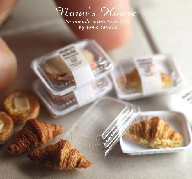 Miniature Paris-Inspired Caf Fare by Tomo Tanaka