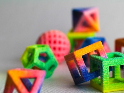 Innovative 3D Food Printers Create Edible Geometric Forms