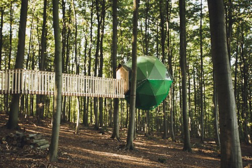 Secluded Treehouse Hotels Allow Guests to Completely Disconnect from Outside World