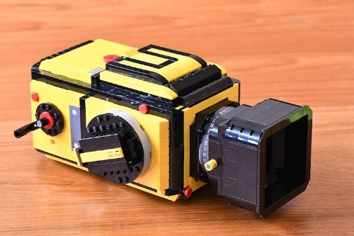 Designer Builds Fully-Functional Hasselblad Camera Entirely From LEGO