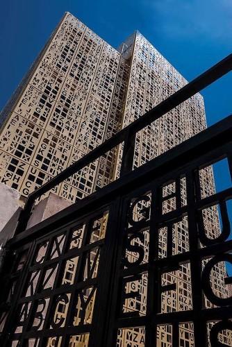 Amazingly Unique Giant Crossword Puzzle Building