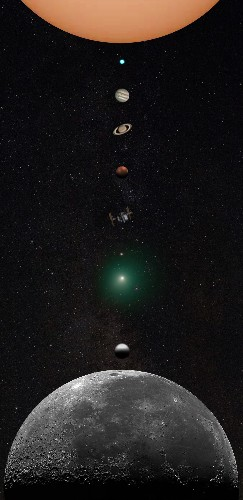 Astrophotographer Creates Incredible Photo of the Solar System from His Backyard
