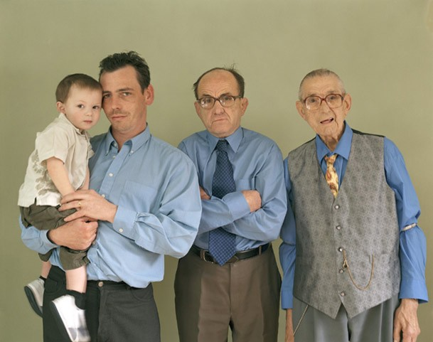 Beautiful Family Portraits with 4+ Living Generations