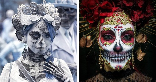 15+ of the Most Stunning Costumes Celebrating Día de los Muertos This Year