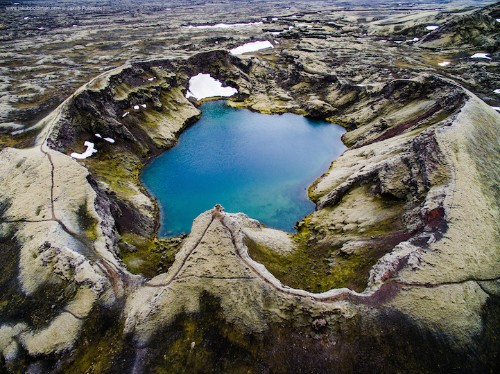Camera Drone Captures Gorgeous Aerial Shots of Iceland's Diverse Terrain