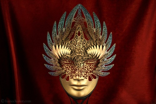 Artist Combats Fear and Insecurity by Creating Elegantly 3D-Printed Masks