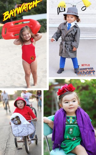 Adorable Toddler Dresses in the Cutest Costumes Leading Up to Halloween