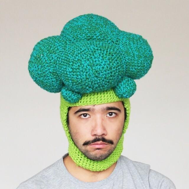 Artist Crochets Delightfully Oversized Foods to Wear on Your Head