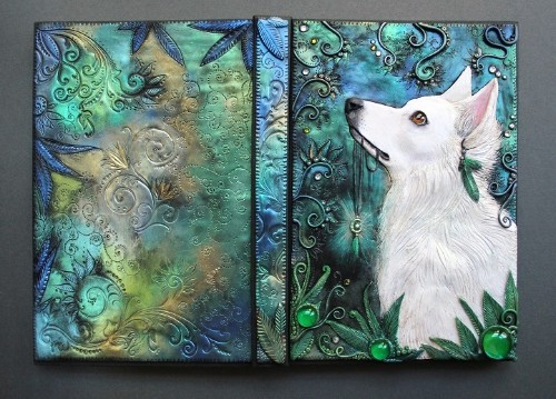 Artist Quits Job to Craft Beautiful Handmade Fairy Tale Book Covers