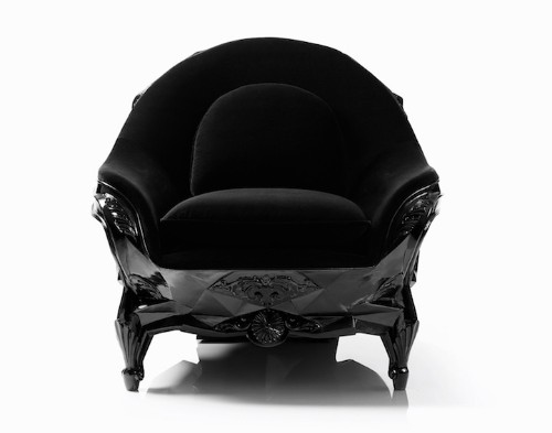 Sculptural Skull Armchair Fit for an Evil Genius