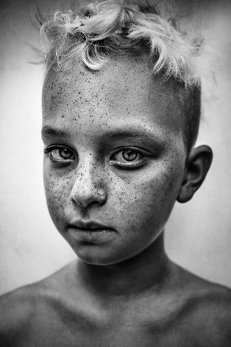 Striking Winners From the First Half of the 2018 B&W Child Photo Competition
