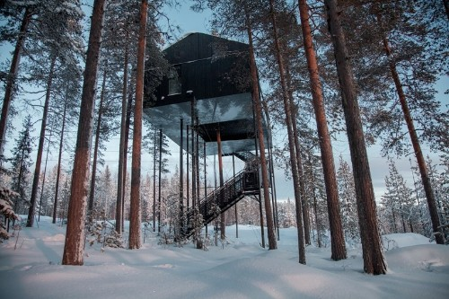 Treehotel by Snøhetta Invites Nature-Lovers to Sleep Among the Trees