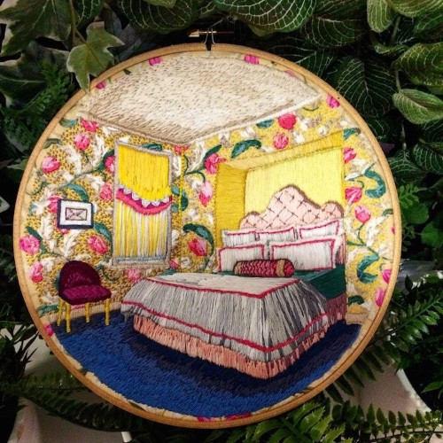 Colorfully Embroidered Home Interiors Filled With Charming Details