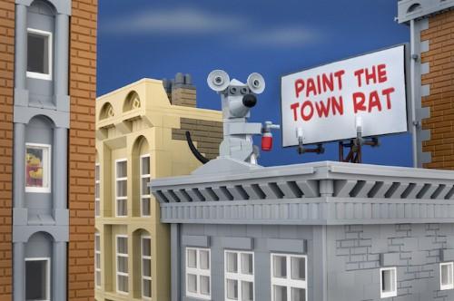 New in the Shop: Banksy-Inspired LEGO Scenes by Jeff Friesen