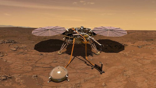 "NASA's InSight Lander Just Recorded a ""Marsquake"" for the First Time"