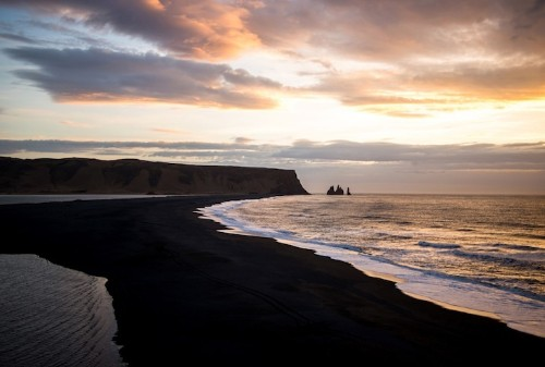 New Photos of Vik, a Breathtaking Black Sand Beach in Iceland