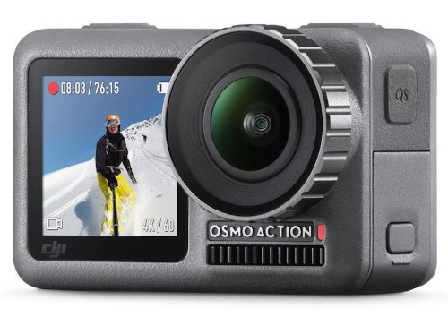 DJI presenta 'Osmo Action': una pequeña cámara 4K que será la nueva rival de GoPro