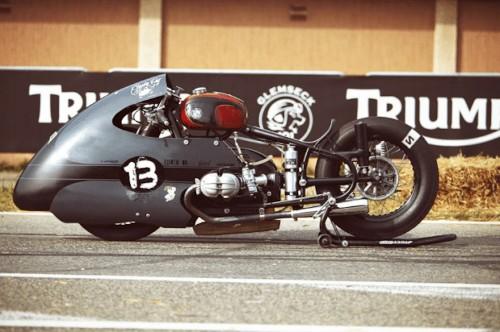 Sprint Beemer Motorcycle Showcases Aerodynamic Design