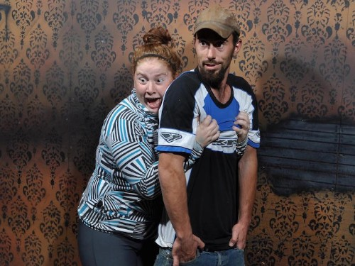 Haunted House Captures Hilariously Frightened Faces of Visitors