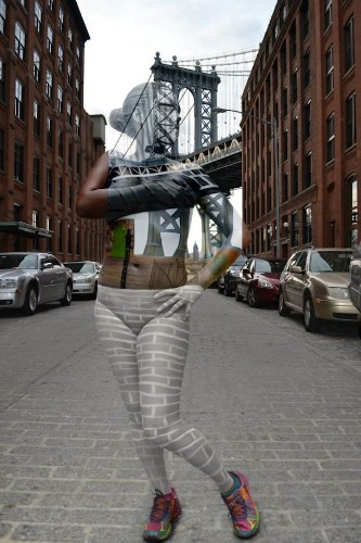Models Covered in Elaborate Bodypaint Blend Perfectly Into NYC Landscapes