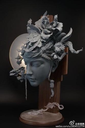 Stunning Sculptures Reimagine Women's Hair as Surreal Landscapes