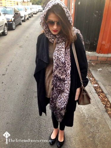 Iranian Women Find Stylish Ways to Abide by the Government's Strict Dress Code