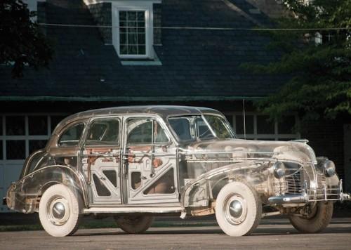 "Pontiac's 1939 ""Ghost Car"" Has a Body Shell Made of Plexiglas"