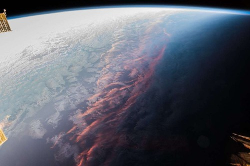 Astronaut Captures Incredible View of What a Sunset Looks Like from Space