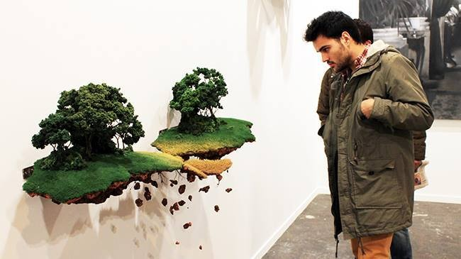 Miniaturized Landscapes by Jorge Mayet Appear to Float in Mid-Air