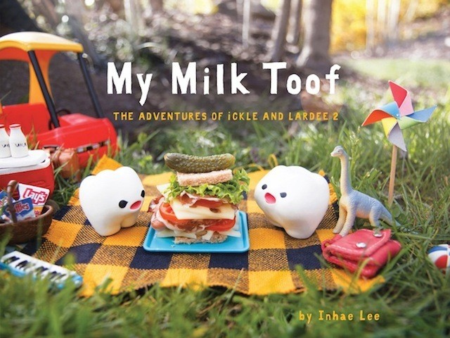 First Look: New Photo Book of Two Adorable Baby Teeth