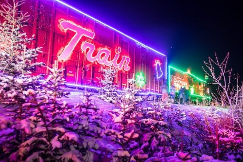 Dazzling Photos of Canada's Festive Trains Transporting Holiday Cheer