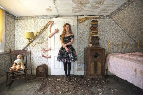 Photographer Transforms Abandoned Spaces into Haunting Fairy Tales