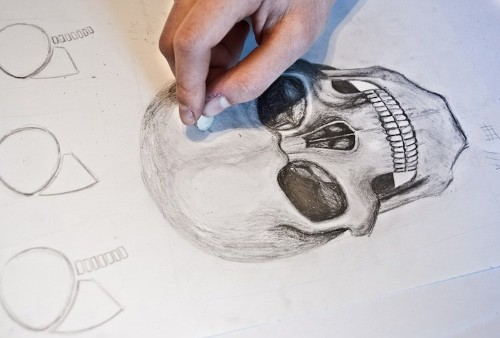 Build Your Drawing Foundation When You Learn How to Draw a Skull