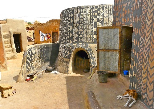 Every House in This African Village Is a Decorative Work of Art
