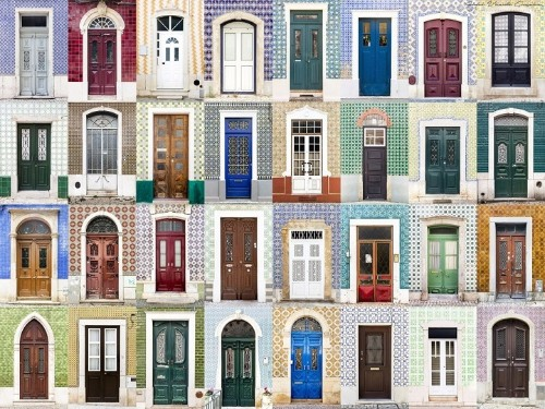 Photographer Captures Charming Diversity of Colorful Front Doors from Around the World