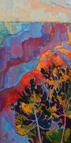Energetic Landscape Paintings Portray Artist Erin Hanson's Love for National Parks
