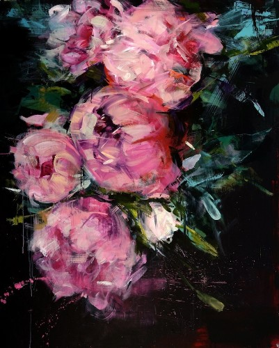 Gorgeous Palette Knife Paintings of Flowers by Carmelo Blandino