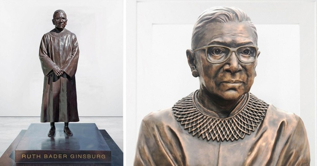 Bronze Statue of Ruth Bader Ginsburg Will Be Unveiled in Brooklyn for Women's History Month 2021
