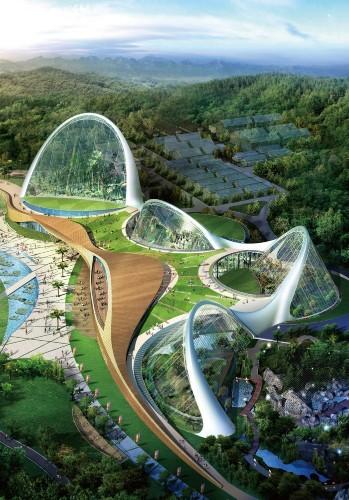 Modern Architecture – The Ecorium Project (4 pics)
