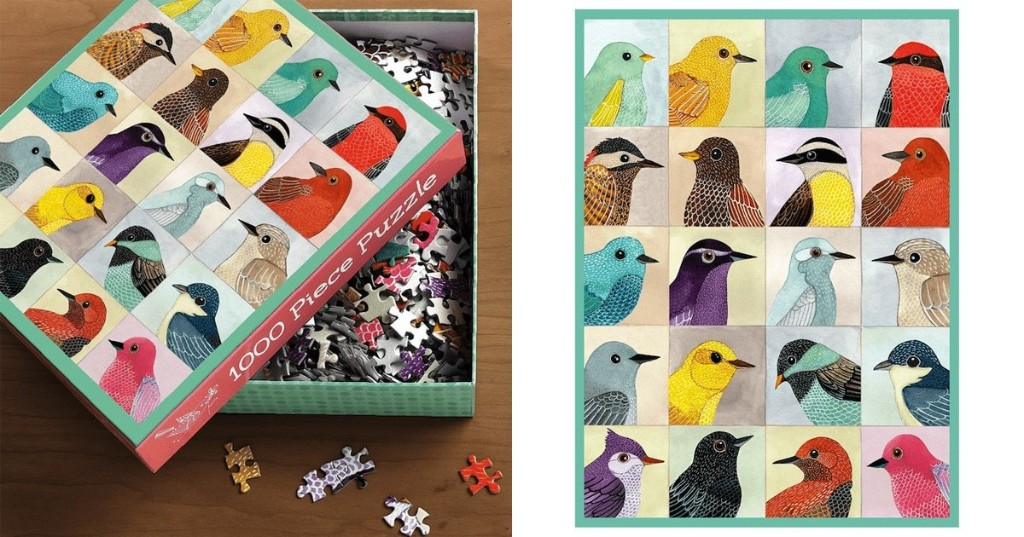 Beautifully Illustrated Jigsaw Puzzles You Can Hang on Your Wall After Completing